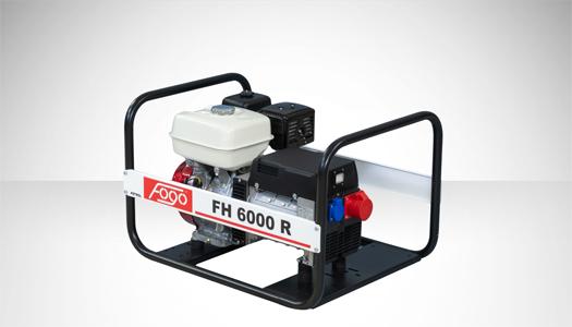 Agregat prądotwórczy trójfazowy FH 6000 R
