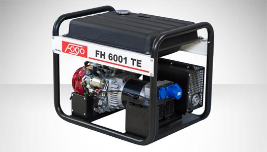 Agregat prądotwórczy jednofazowy FH6001 TE